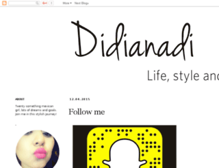 didianadi.blogspot.mx screenshot