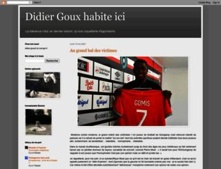 didiergouxbis.blogspot.com screenshot