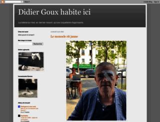 didiergouxbis.blogspot.fr screenshot