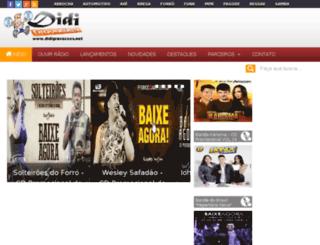 didigravacoes.com screenshot