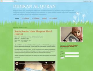 didikanquran.blogspot.com screenshot
