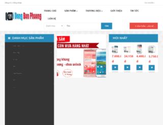 didongbonphuong.com screenshot