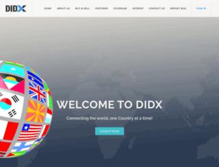 didx.net screenshot