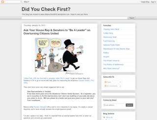 didyoucheckfirst.blogspot.com screenshot