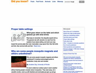 didyouknow.org screenshot