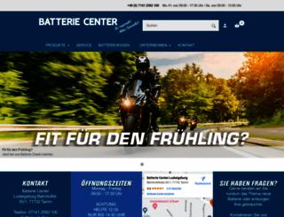 die-batterie-experten.de screenshot