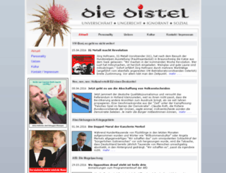 die-distel.info screenshot