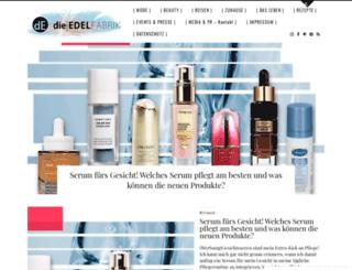 die-edelfabrik.blogspot.it screenshot