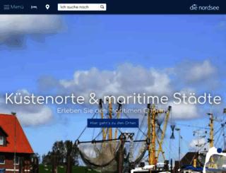 die-nordsee.de screenshot