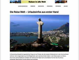 die-reise-welt.net screenshot