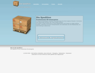 die-spedition.net screenshot