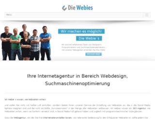 die-webies.de screenshot