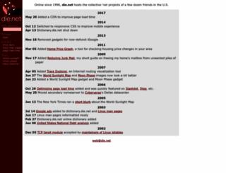 die.net screenshot