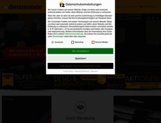 die12monate.de screenshot