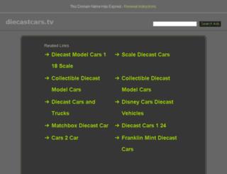 diecastcars.tv screenshot