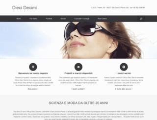 dieci-decimi.it screenshot