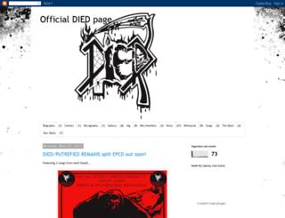 diedband.blogspot.com screenshot