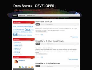 diegodeveloper.wordpress.com screenshot