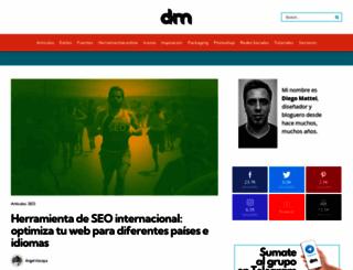 diegomattei.com.ar screenshot