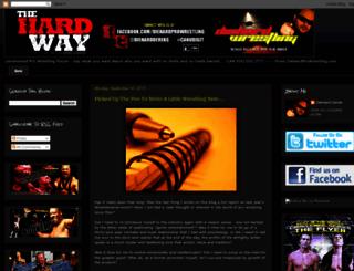 diehardprowrestling.blogspot.com screenshot