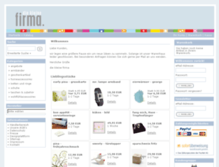 diekleinefirma.com screenshot