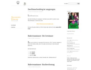 dieliebenessy.wordpress.com screenshot