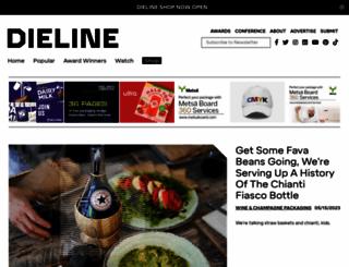 dieline.typepad.com screenshot