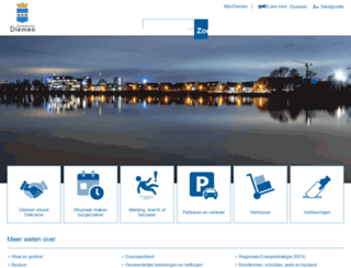 diemen.nl screenshot