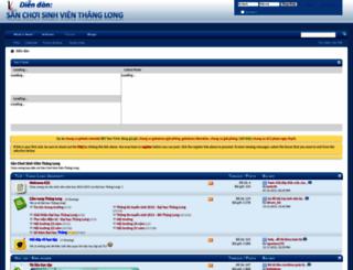 diendan.dhthanglong.net screenshot