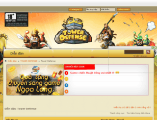 diendan.tdvn.com.vn screenshot
