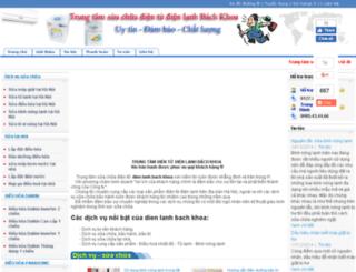 dientudienlanhbk1.com screenshot