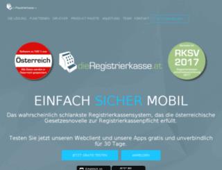 dieregistrierkasse.at screenshot