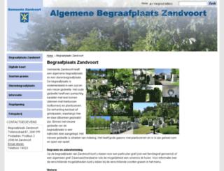 dierenbegraafplaats-zandvoort.nl screenshot