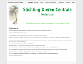 dierencentrale.nl screenshot