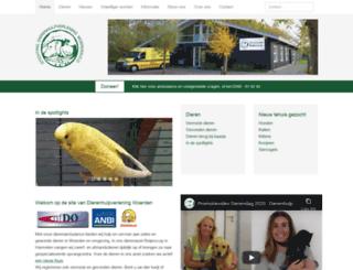 dierenhulpverleningwoerden.nl screenshot