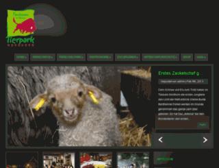 dierentuinen.de screenshot