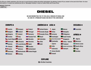 diesel.com screenshot