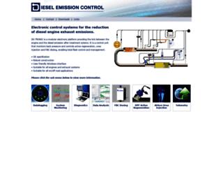 dieselemissioncontrol.com screenshot