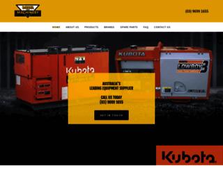dieselmachinery.com.au screenshot