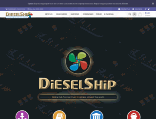 dieselship.com screenshot