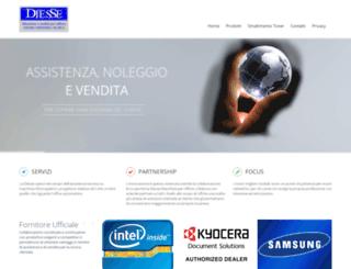diessemacchineufficio.it screenshot