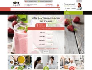 diet-expert.com screenshot