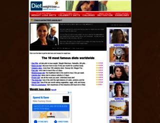 diet-weight-lose.com screenshot