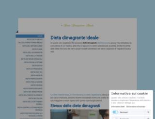dietadimagranteideale.jimdo.com screenshot