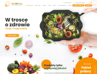 dietadodomu.pl screenshot