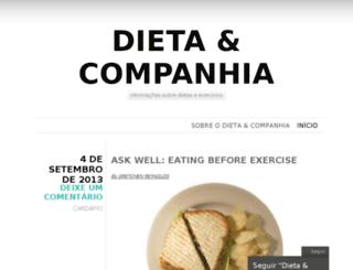 dietaecia.com screenshot
