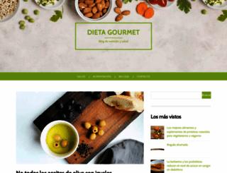 dietagourmet.es screenshot