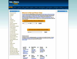 dietandfitnesstoday.com screenshot