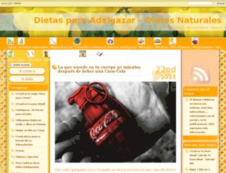 dietasparaadelgazar.jaimaalkauzar.es screenshot