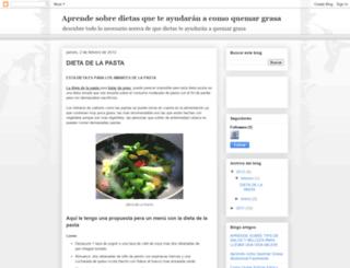 dietasquemagrasa.blogspot.com screenshot